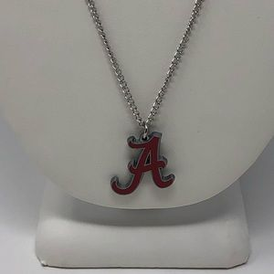 🆕UNISEX University Alabama LOGO Pendant & Chain